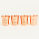 United By Blue United By Blue Shot In The Dark Copper Shot Glass Set