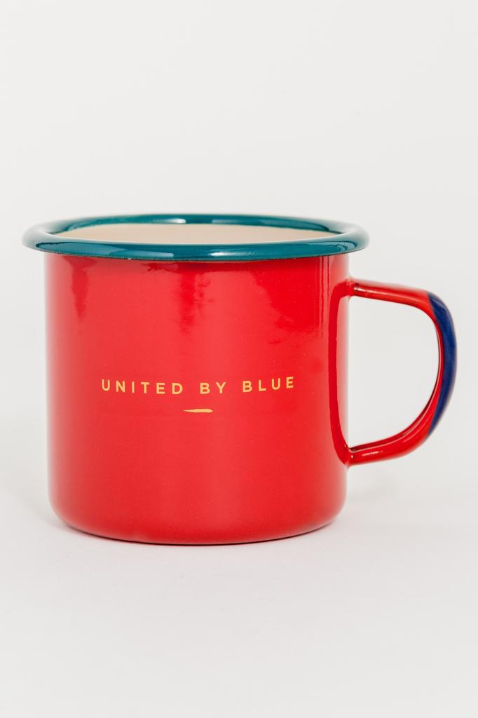 United By Blue United By Blue Places You'll Go 12oz Enamel Mug