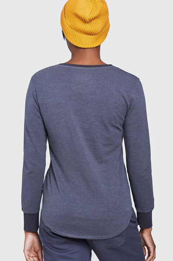 United By Blue United By Blue Women's Light Thermal L/S Henley