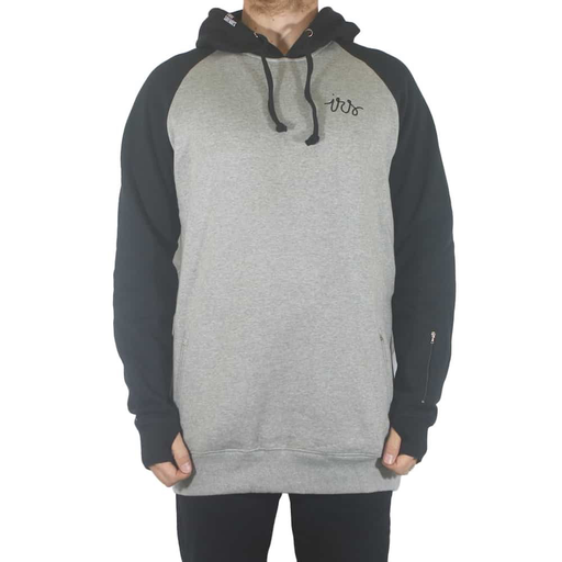 I RIDE SIDEWAYS I Ride Sideways Men's Loop DWR Tall Hoodie