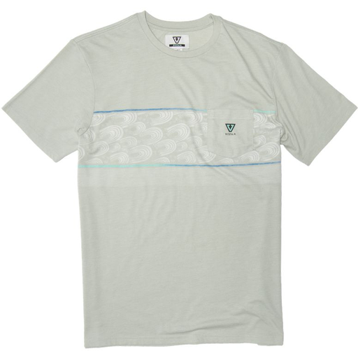 Vissla Vissla Men's Surfrider S/S Knit Pocket Tee