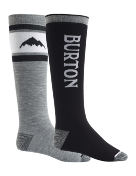 Burton Burton Men's Weekend Midweight 2-Pack Snowboard Sock