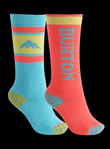 Burton Burton Kids Weekend Midweight 2-Pack Snowboard Sock