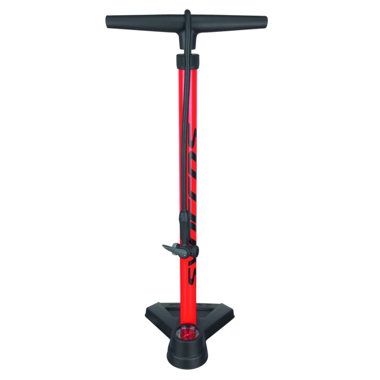 SYNCROS Syncros Floor Pump FP 3.0 (Red/Black)