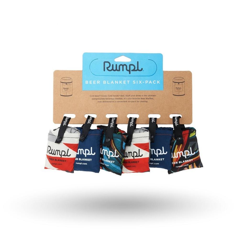 RUMPL Rumpl Beer Blanket Coozy 6-Pack