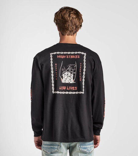ROARK Roark Men's High Stakes Low Lives Staple Long Sleeve