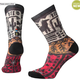 SMARTWOOL Smartwool Women's Curated Block Print Crew Socks