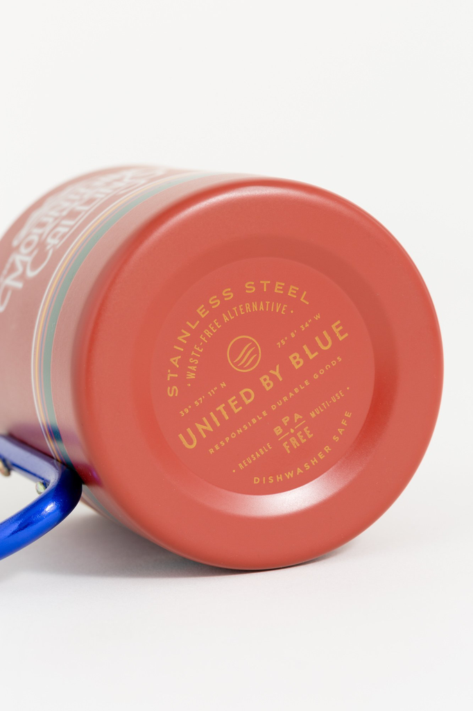 United By Blue United By Blue Mountains Are Calling 10oz Carabiner Cup
