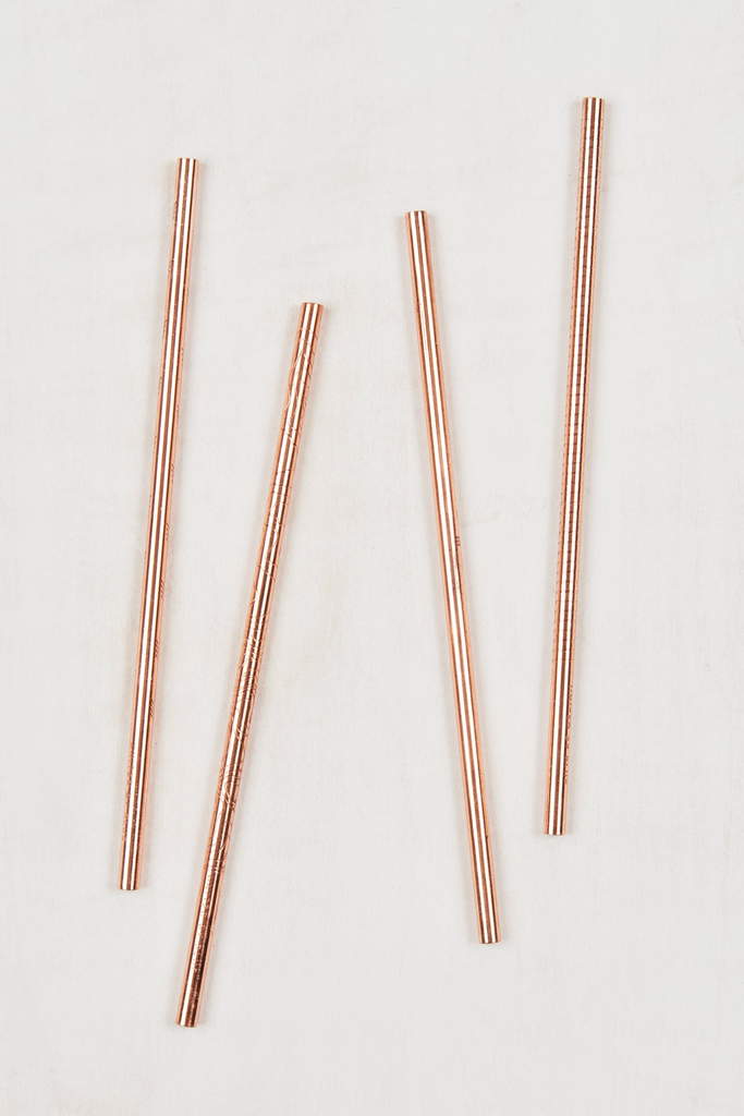 United By Blue United By Blue Adventure Copper Straw Set
