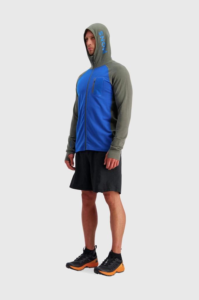 MONS ROYALE Mons Royale Men's Traverse Midi Full Zip Hood