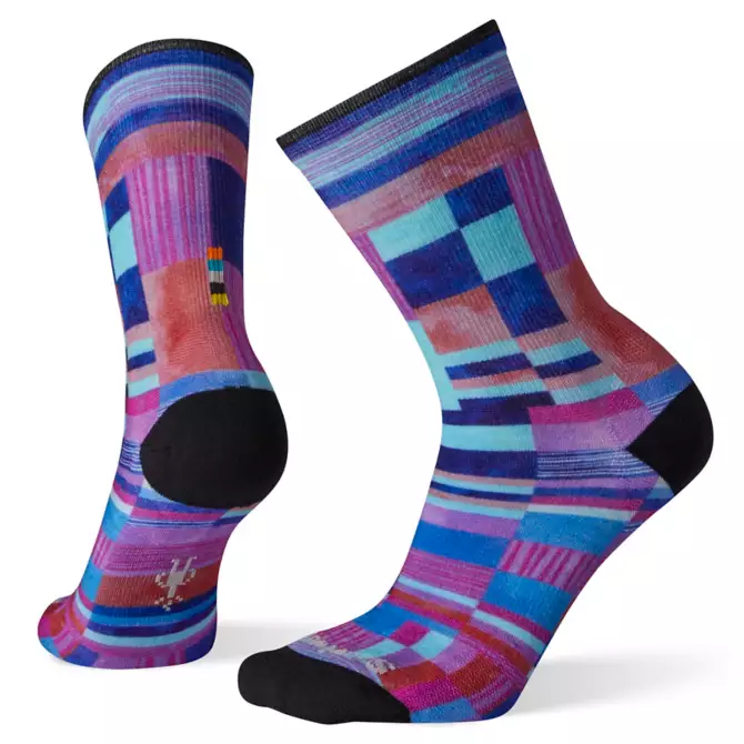 SMARTWOOL Smartwool Women's Curated Patchwork Print Crew Socks