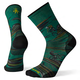 SMARTWOOL Smartwool PhD Cycle Ultra Light Dialed Print Crew Socks