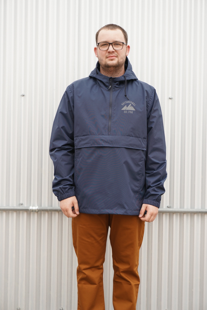 OUTTABOUNDS Outtabounds Custom Half-Zip Anorak Jacket