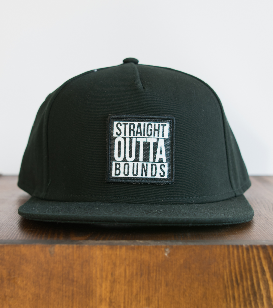 OUTTABOUNDS Outtabounds Straight Outta Bounds Hat (Black)
