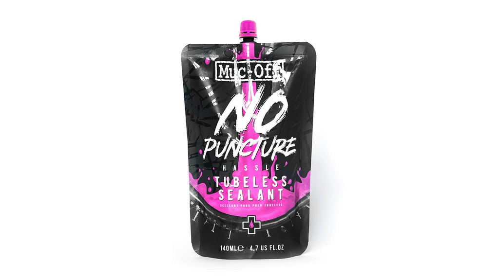 Muc-Off Muc-Off No Puncture Hassle Tubeless Sealant Pouch (140mL)