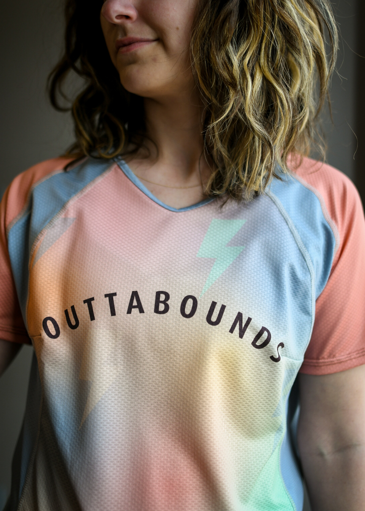 OUTTABOUNDS Outtabounds Women's Like Lightning Bike Jersey
