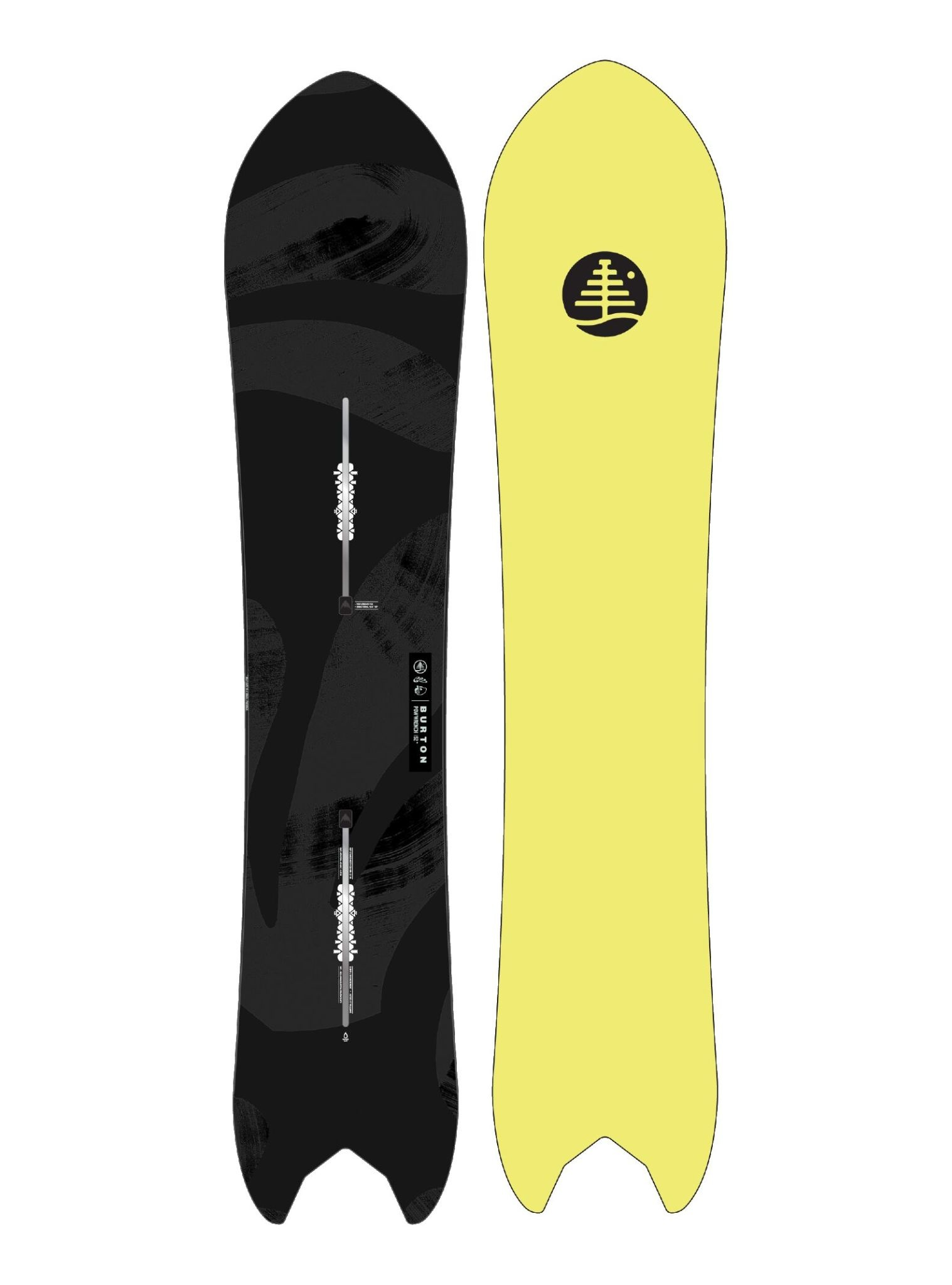 Burton Burton Family Tree Pow Wrench Snowboard (2021)
