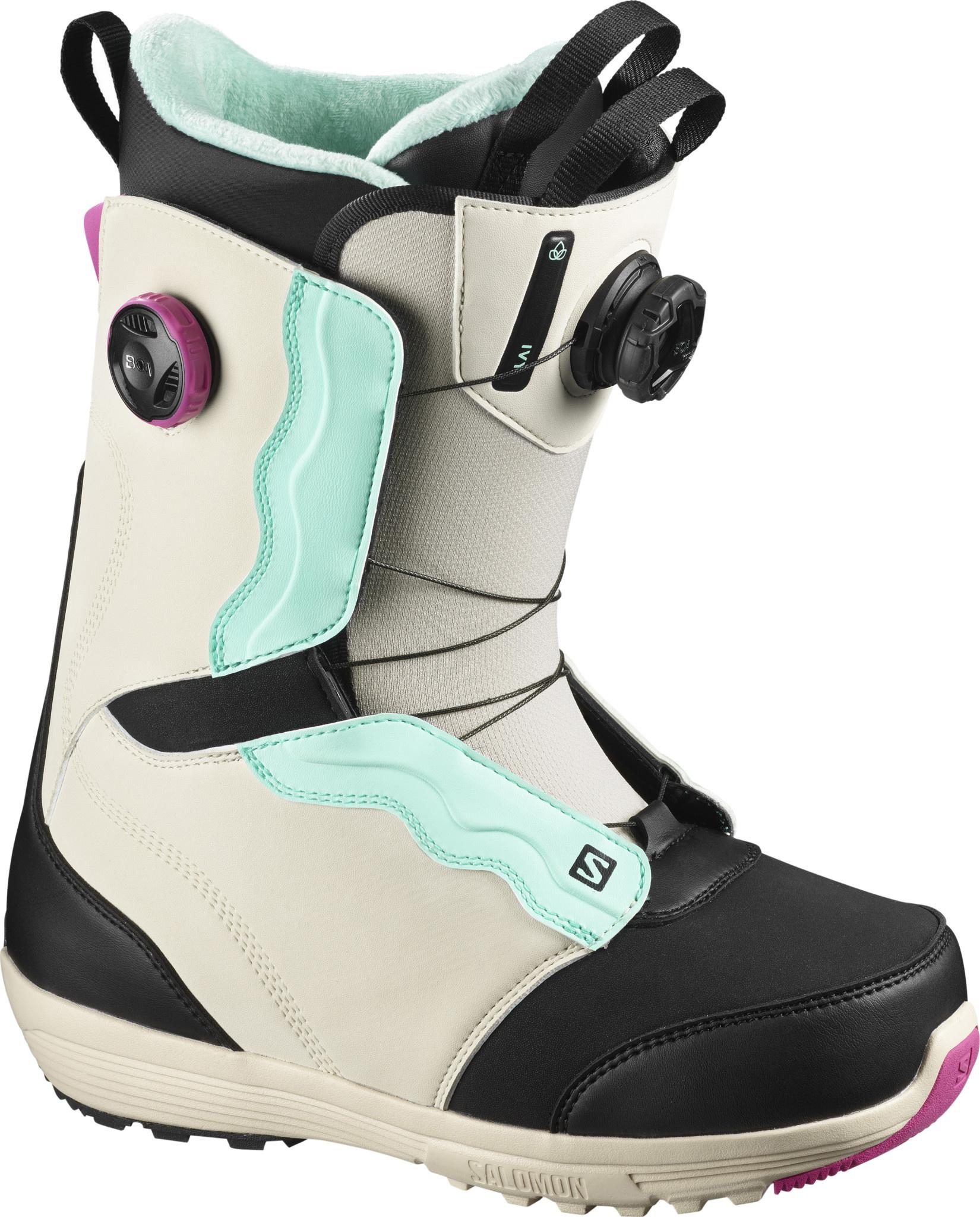 SALOMON Salomon Women's Ivy STR8JKT Boa Snowboard Boot (2021)