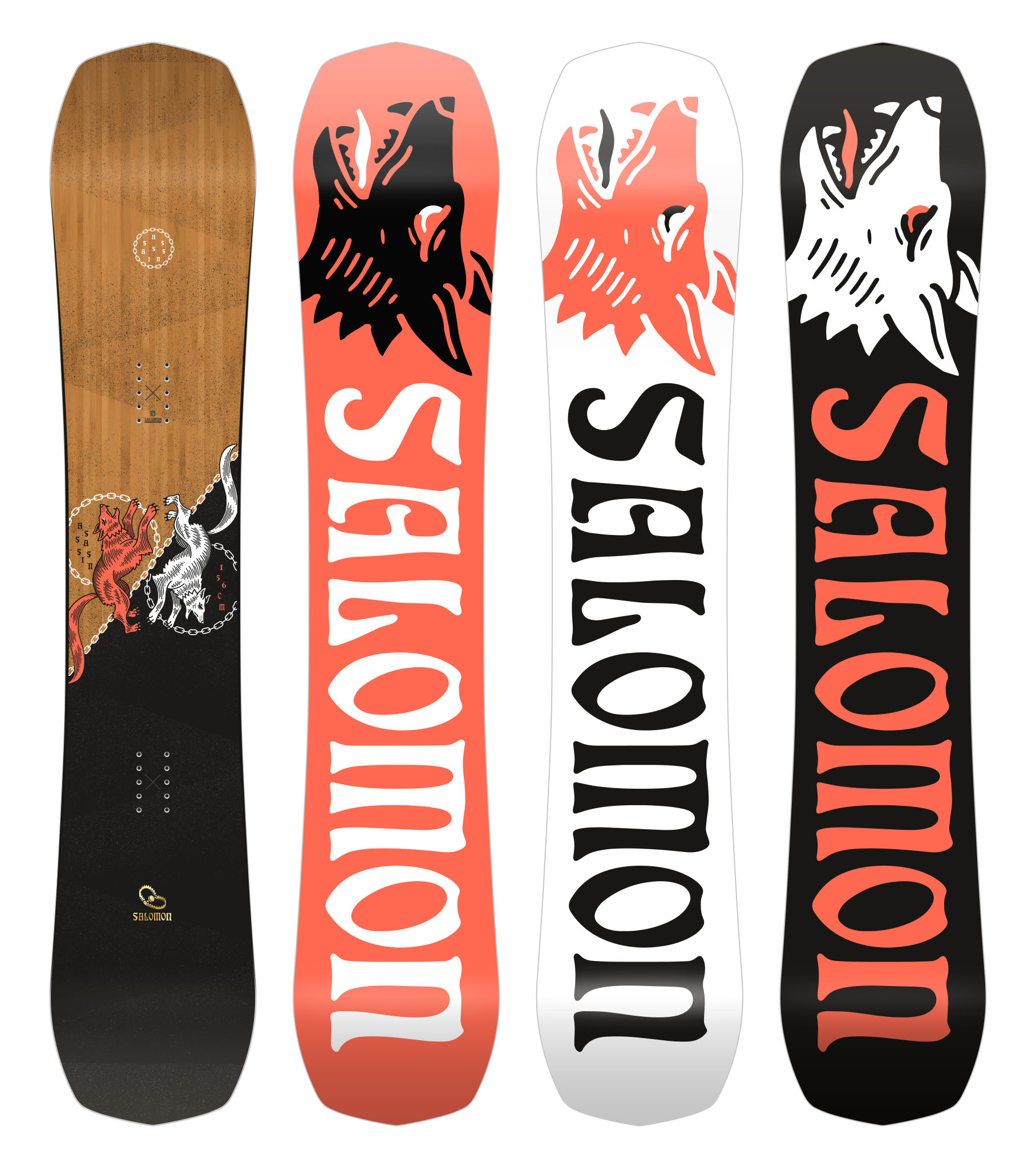 SALOMON Salomon Men's Assassin Snowboard (2021)