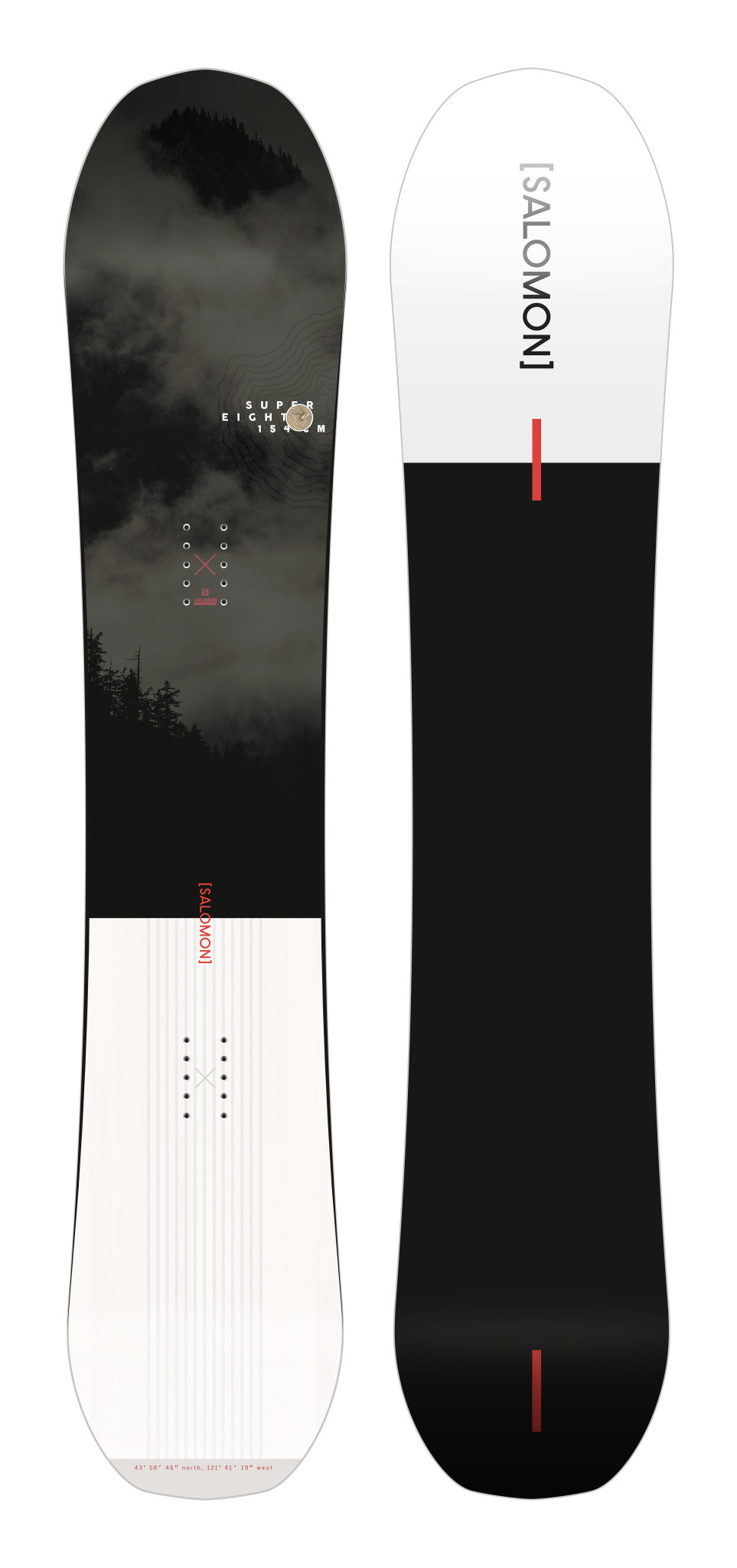SALOMON Salomon Men's Super 8 Snowboard (2021)