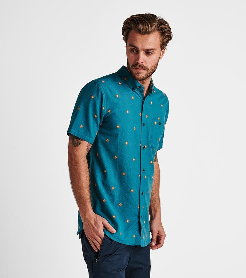 ROARK Roark Men's Kemang Woven Button Up Shirt