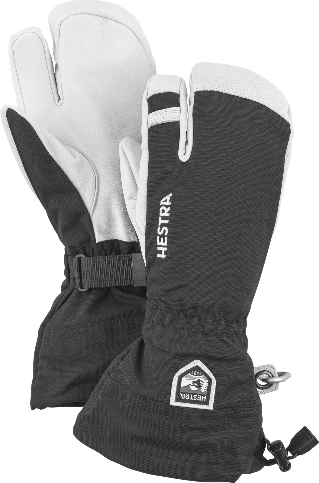 Hestra Hestra Army Leather Heli Ski 3-Finger Mitt