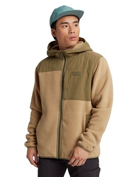 Burton Burton Men's Hearth Full Zip Hooded Fleece