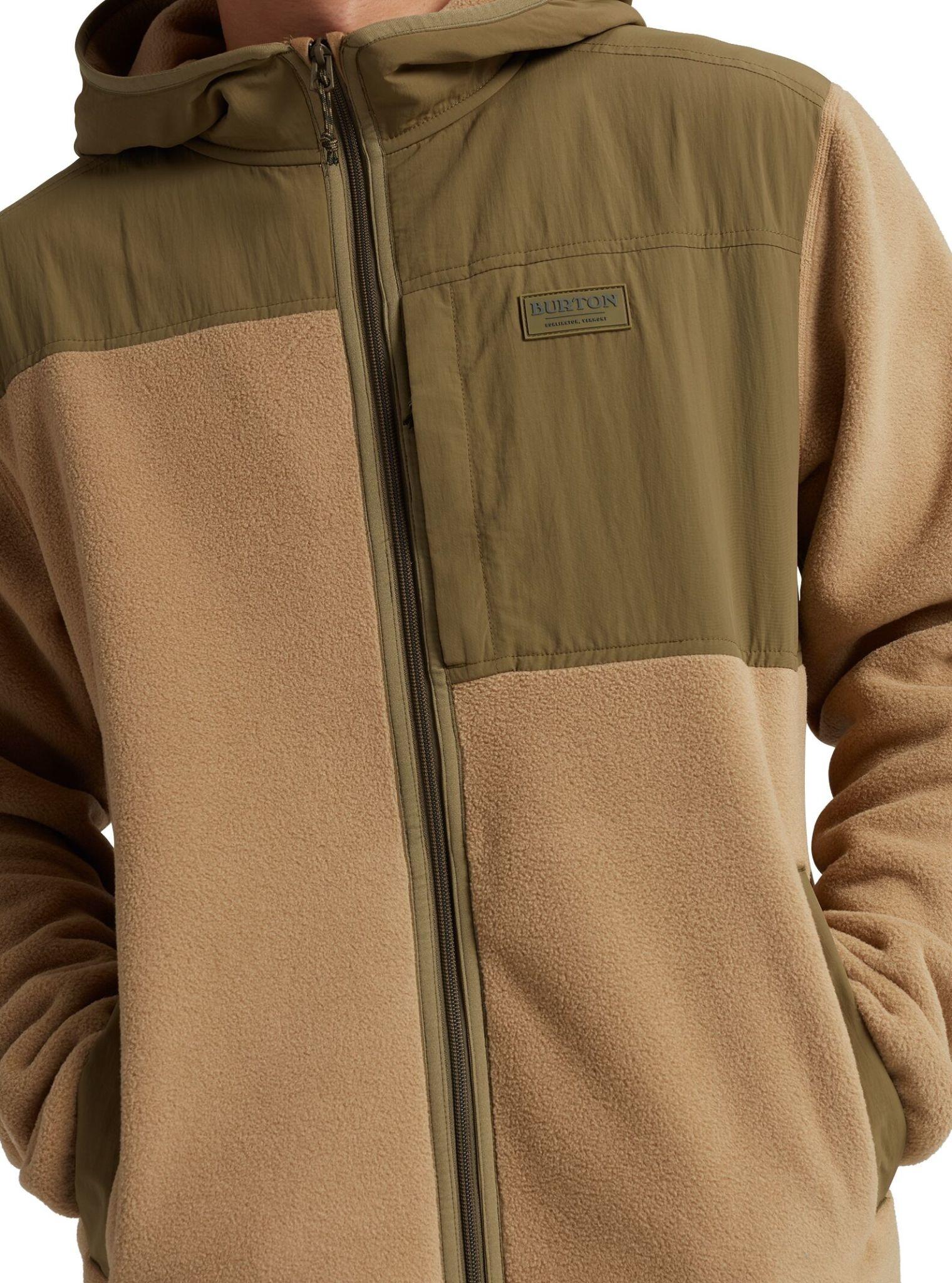 Burton Burton Men's Hearth Full Zip Hooded Fleece