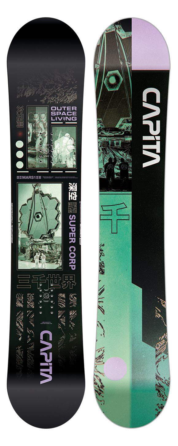 Capita Capita Men's Outerspace Living Snowboard (2021)