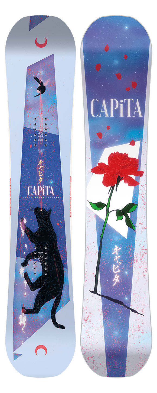 Capita Capita Women's Space Metal Fantasy Snowboard (2021)