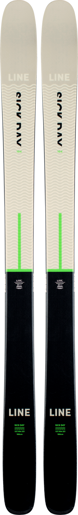 LINE Line Men's Sick Day 104 Ski (2021)