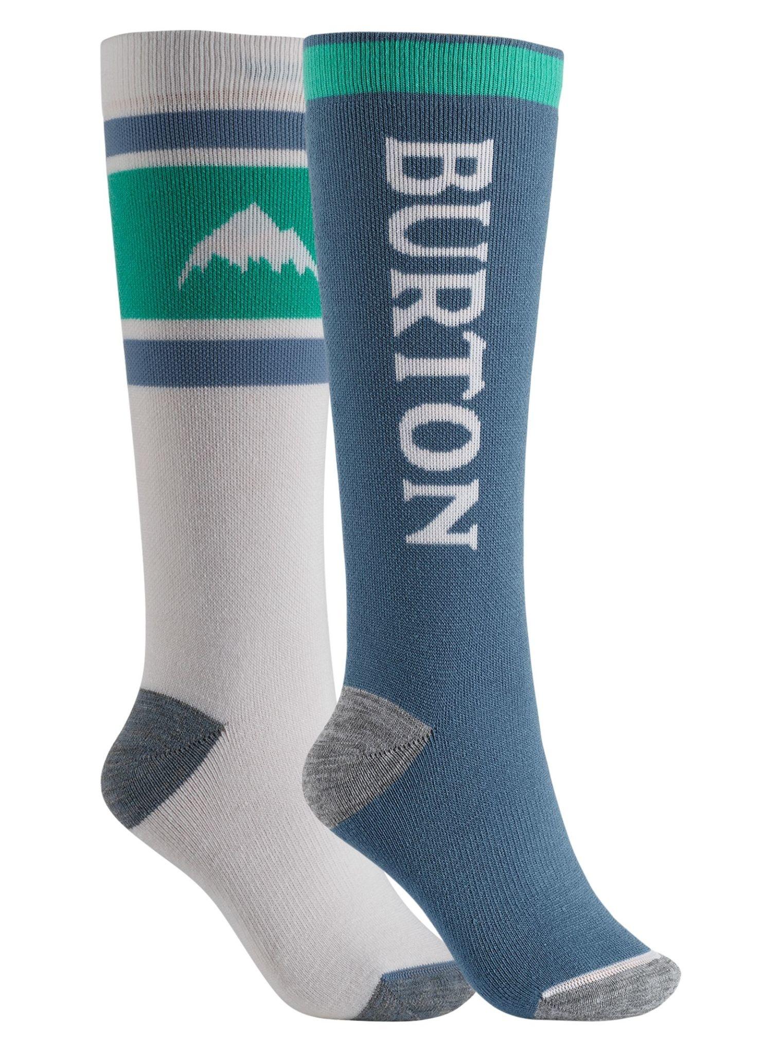 Burton Burton Women's Weekend Midweight 2-Pack Snowboard Sock