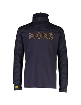 MONS ROYALE Mons Royale Men's Yotei Powder Hood LS Shirt