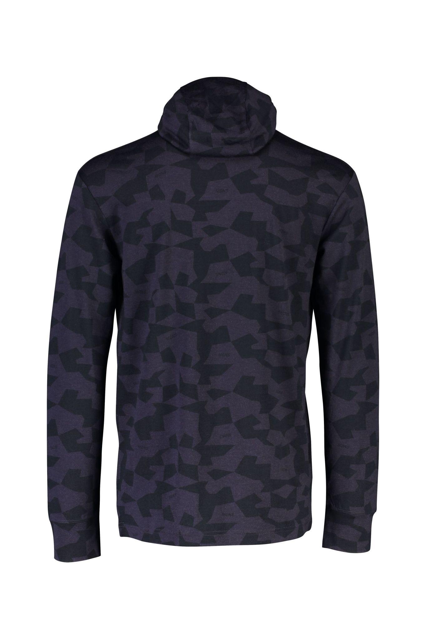 MONS ROYALE Mons Royale Men's Yotei Powder Hood LS Shirt