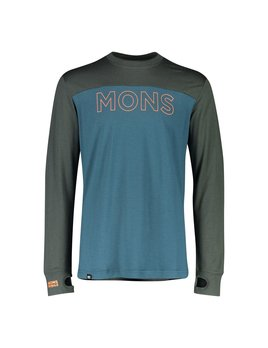 MONS ROYALE Mons Royale Men's Yotei Tech LS Shirt