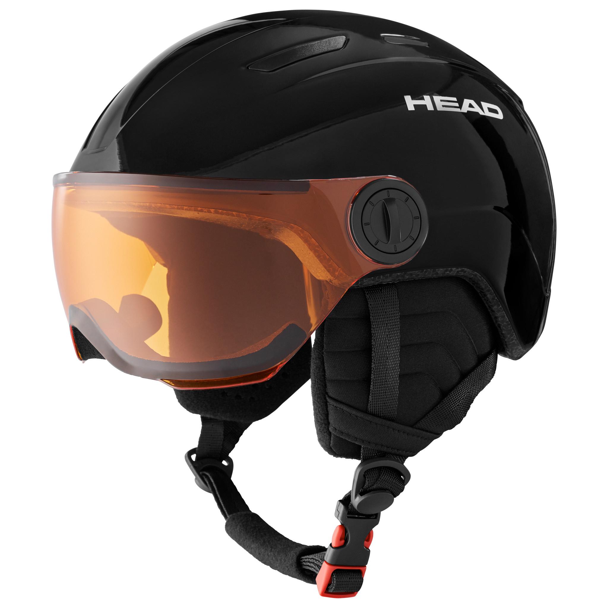 Head Head Youth Mojo Visor Snow Helmet