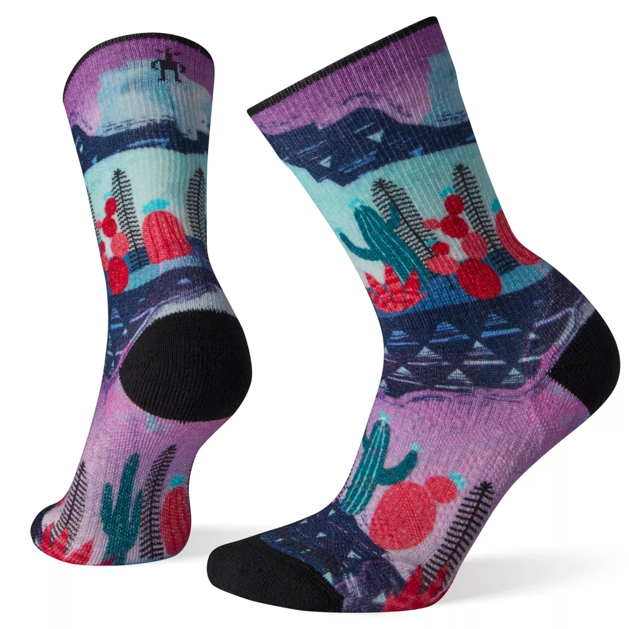 SMARTWOOL Smartwool Women's PhD Outdoor Light Print Crew Hiking Socks