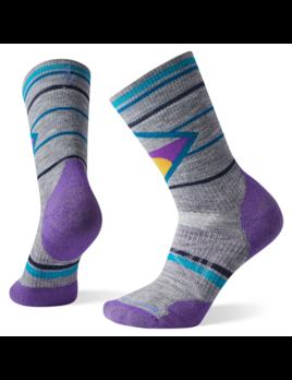 SMARTWOOL Smartwool Women's PhD Outdoor Medium Pattern Crew Socks