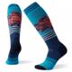SMARTWOOL Smartwool Women's PhD Snow Medium Traced Dahlia Pattern Socks