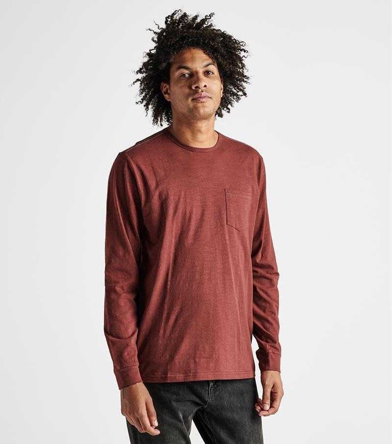 Roark Roark Men's Well Worn Long Sleeve Midweight Organic Knit Top