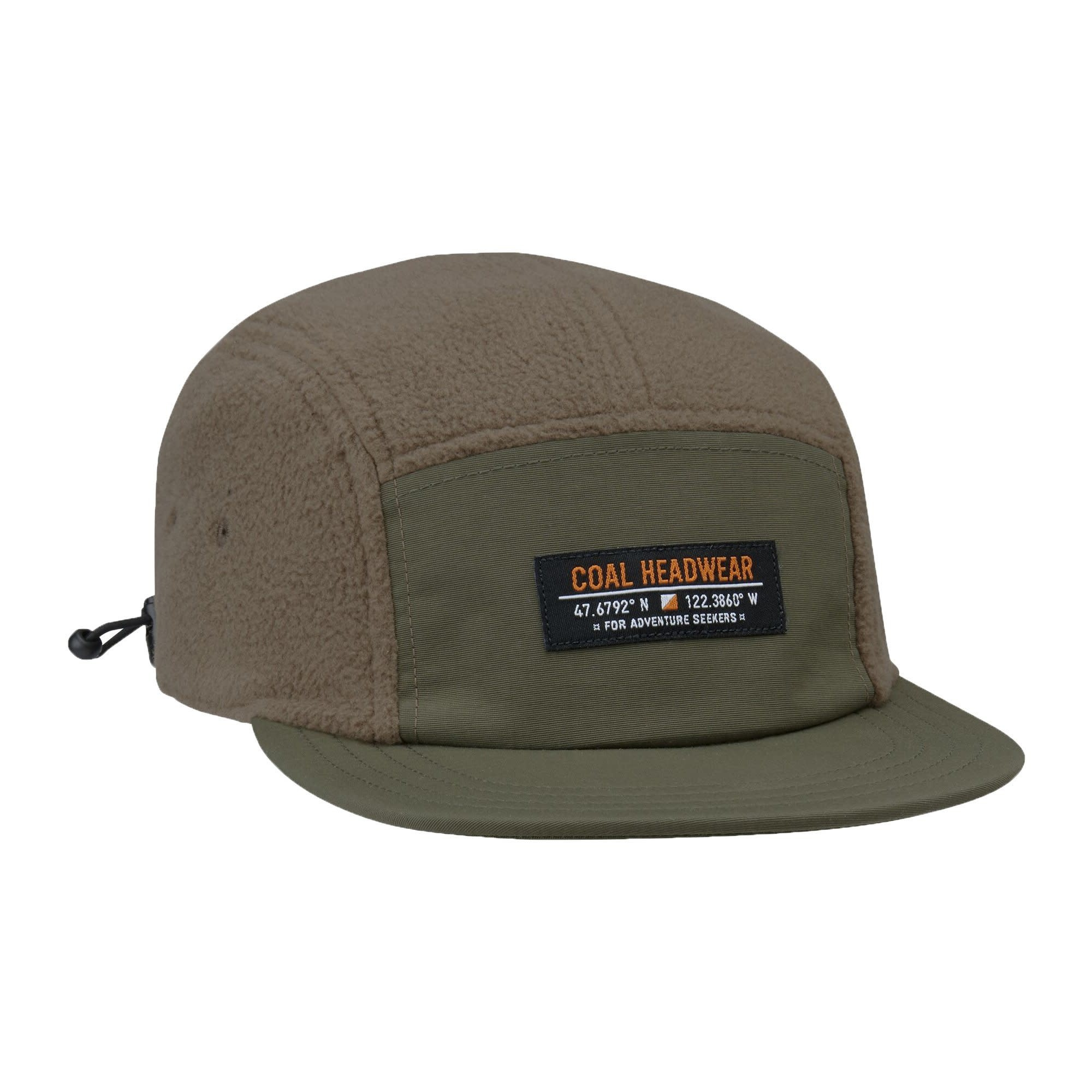 Coal Coal The Bridger Fleece 5 Panel Hat