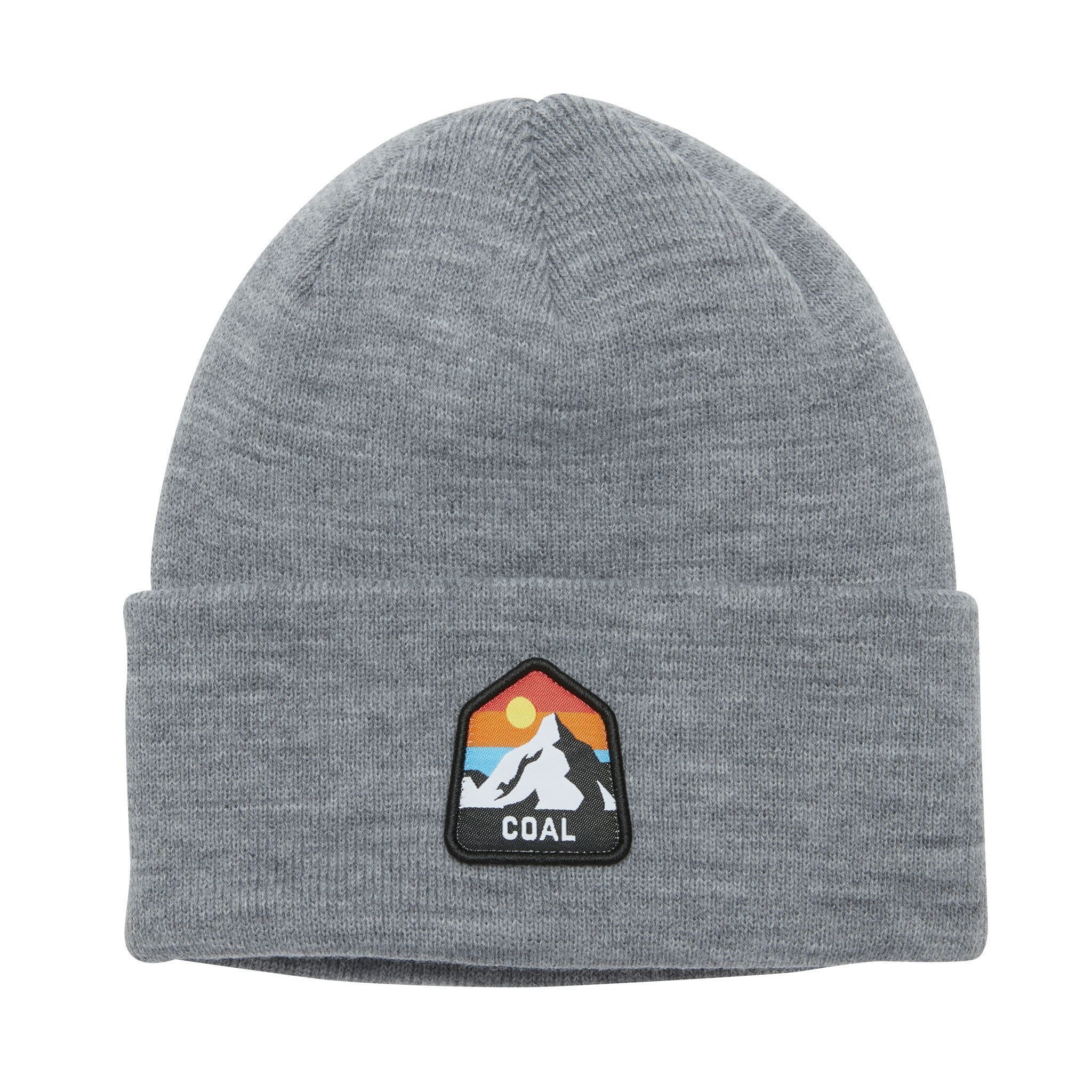 Coal Coal The Peak Mountain Patch Beanie