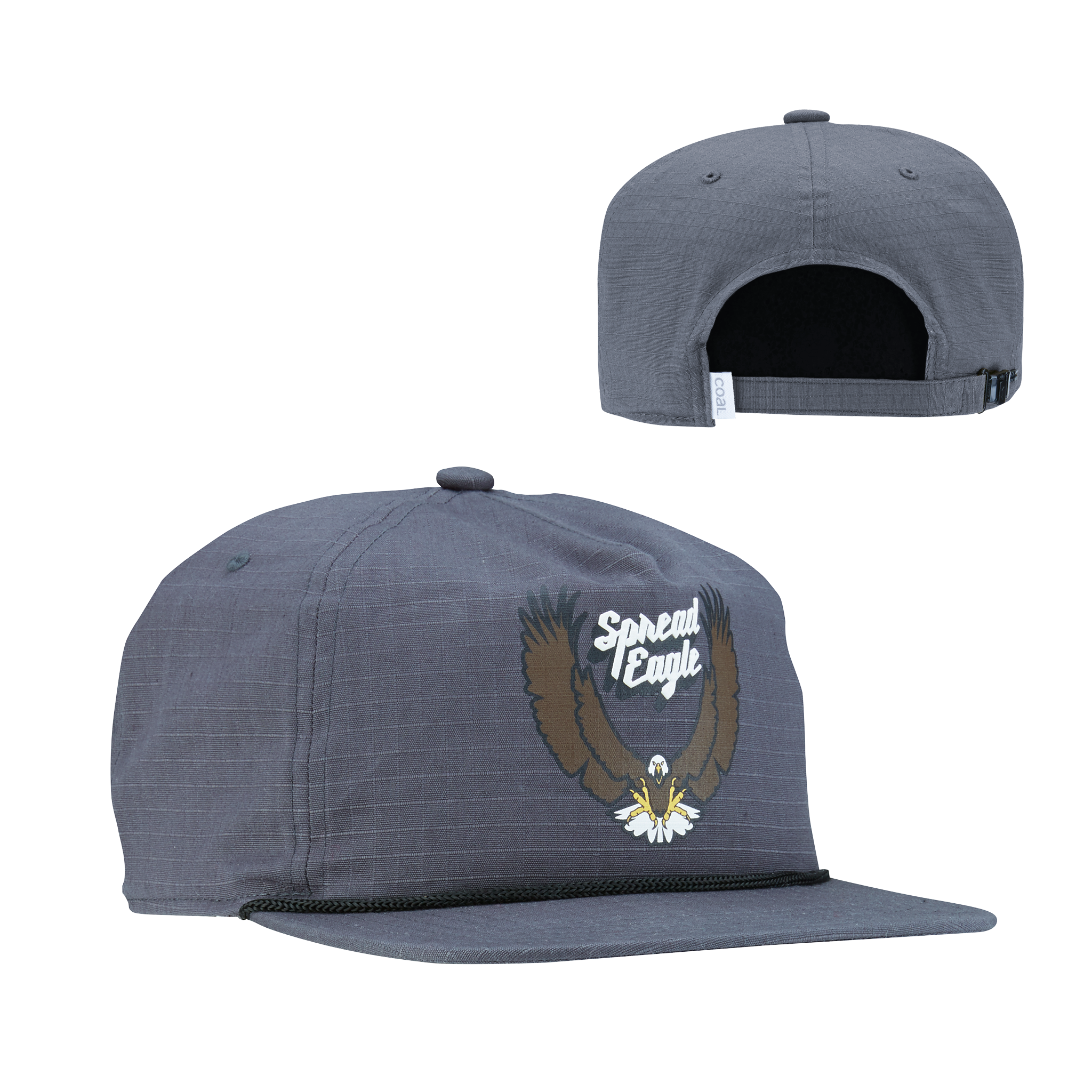 Coal Coal The Field Vintage Graphic Strapback Hat