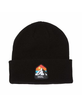 Coal Coal The Peak Kids Cuffed Mountain Beanie