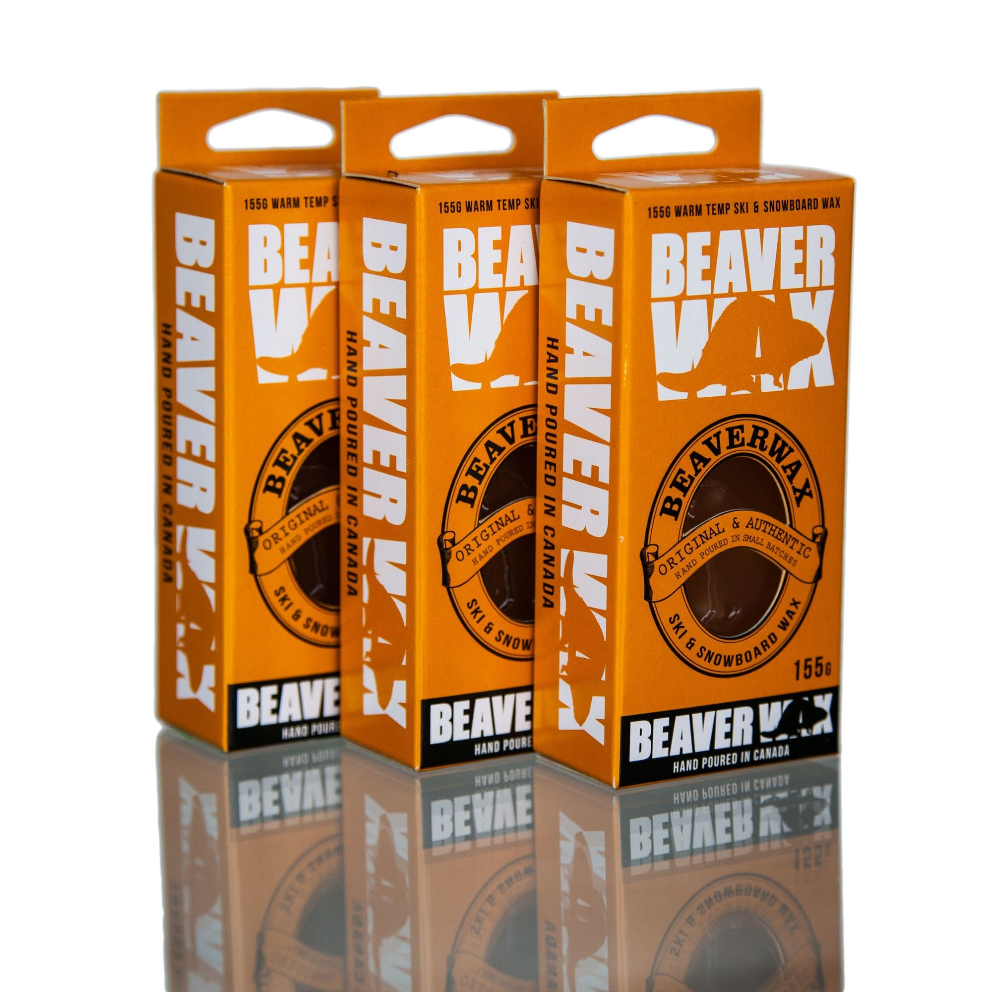 Beaver Wax Beaver Wax Warm Temperature Snow Wax - 155g