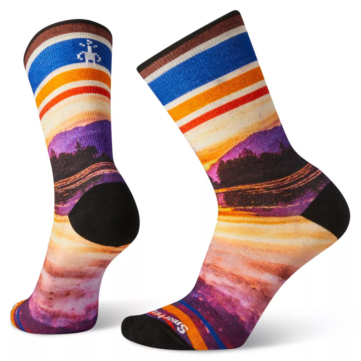 SMARTWOOL Smartwool Women's Curated Reflection Mountain Crew Socks