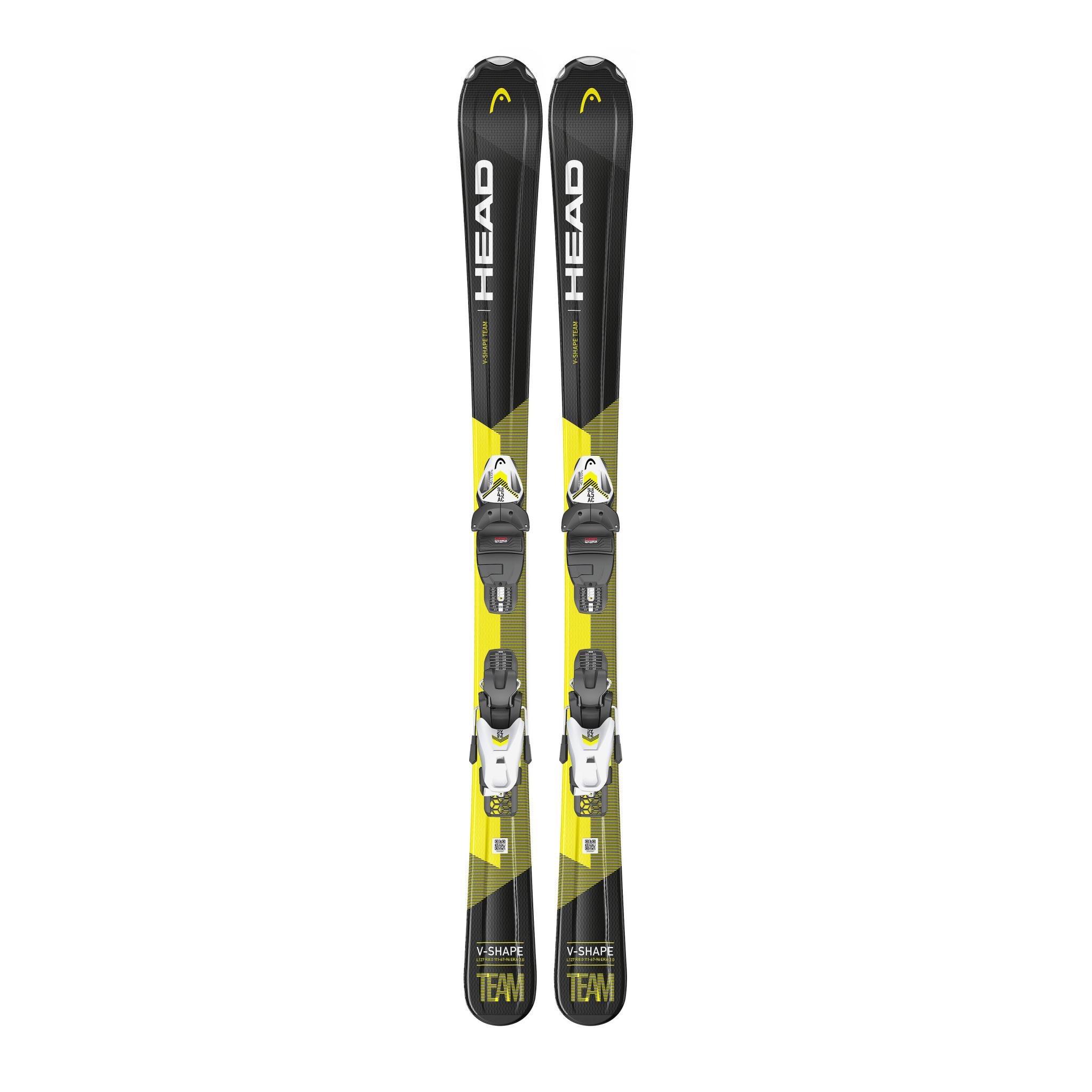 Head Head Youth V-Shape Team SLR Pro Ski Package (2021)