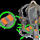MDXONE OX Kids Ski and Snowboard Harness with Retractable Leash