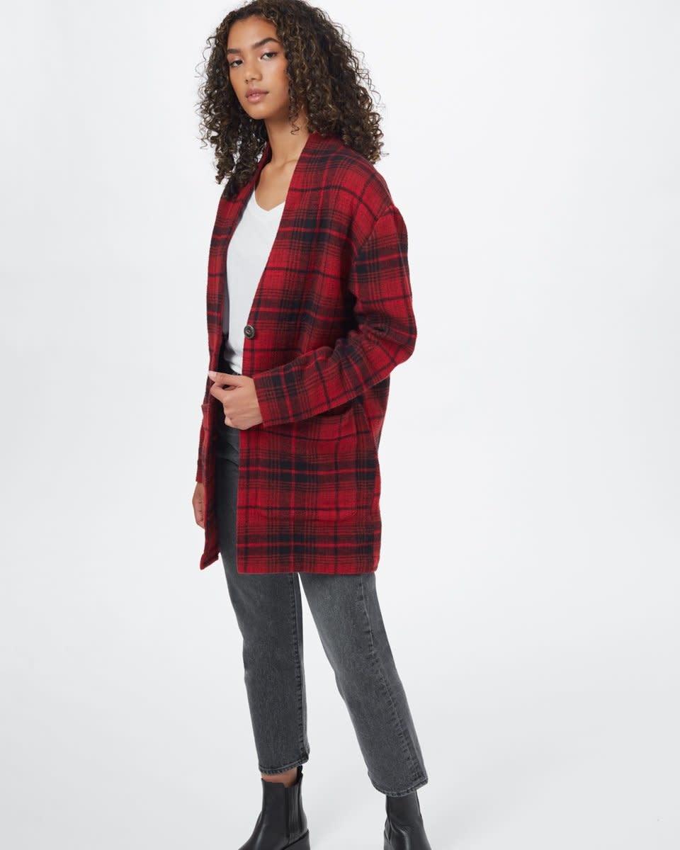 TenTree Tentree Women's Flannel Cocoon Cardigan