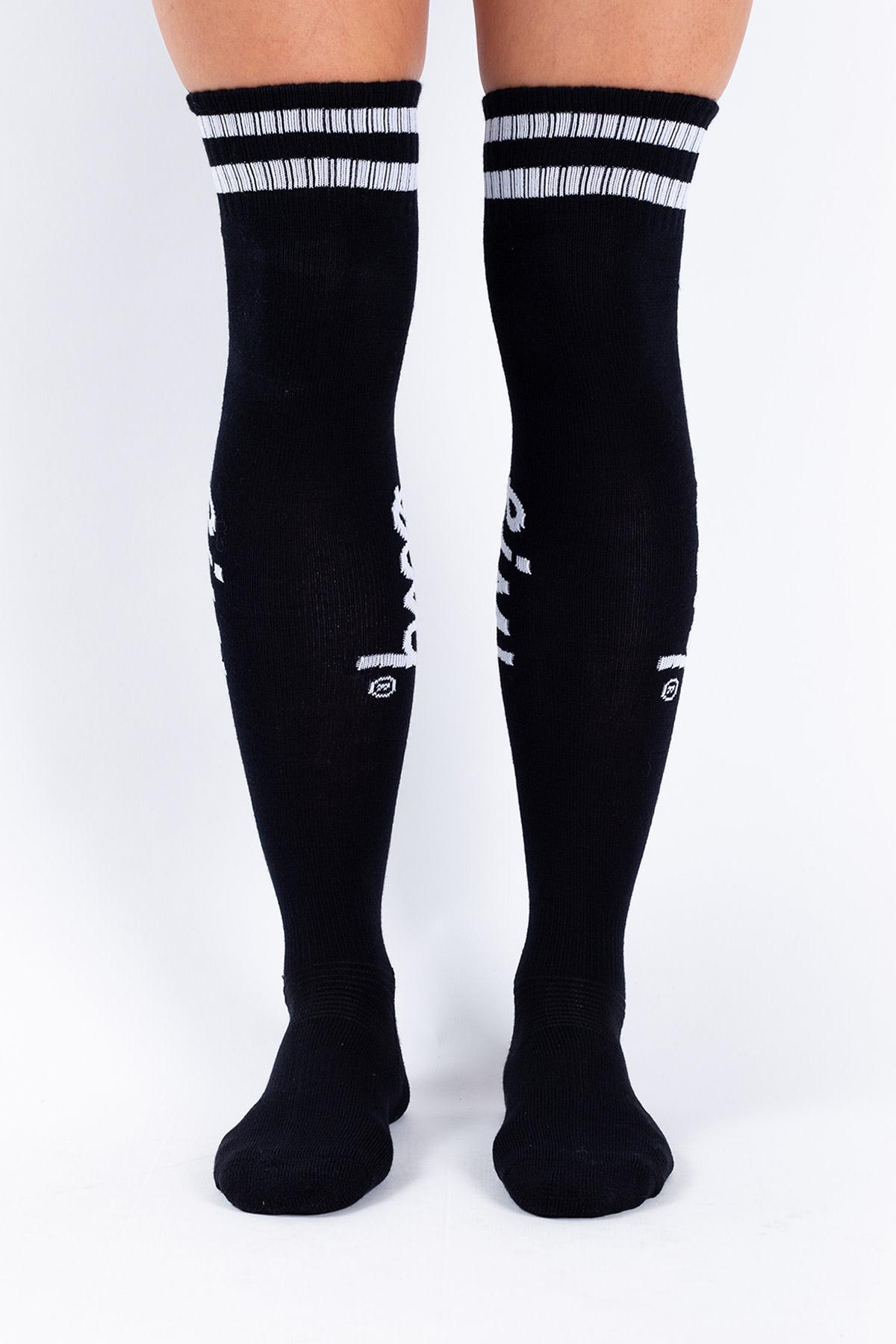 Eivy Eivy Women's Cheerleader Wool Over Knee Sock